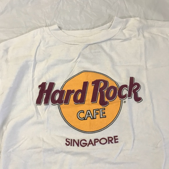 6bfd9bcf Shirts | Vintage Hard Rock Cafe Singapore Tee Shirt M | Poshmark